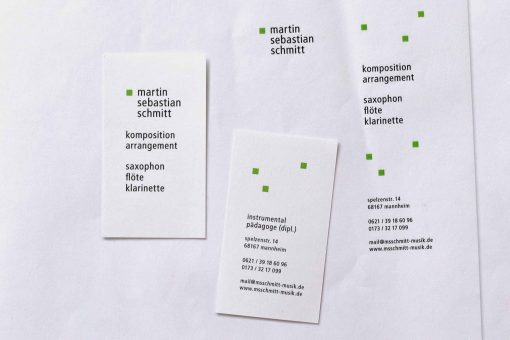 martin letterhead and business cards