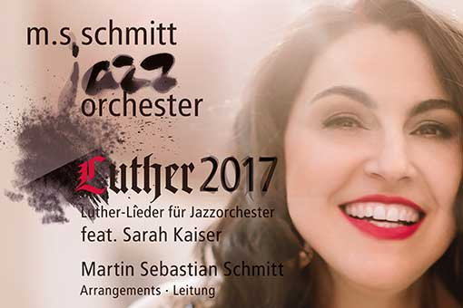 jazzorchestra - luther 2017 poster and logo