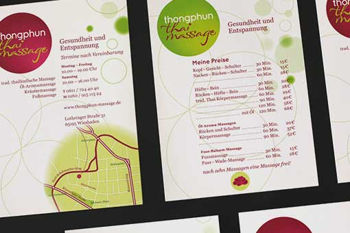thonphun - flyer, front and back